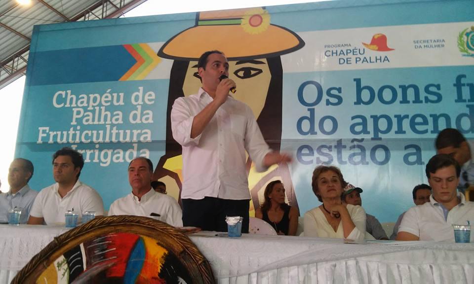 045dd0e0e5b21 Paulo Câmara participa do encerramento da edição 2015 do Chapéu de ...