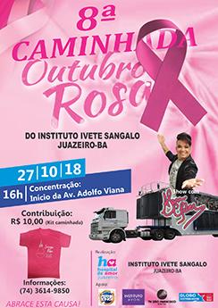 Outubro Rosa - Instituto Ivete Sangalo